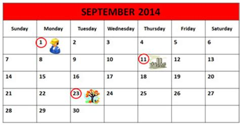 Calendar When Is Labor Day Labor Day Lesson For Esl Students