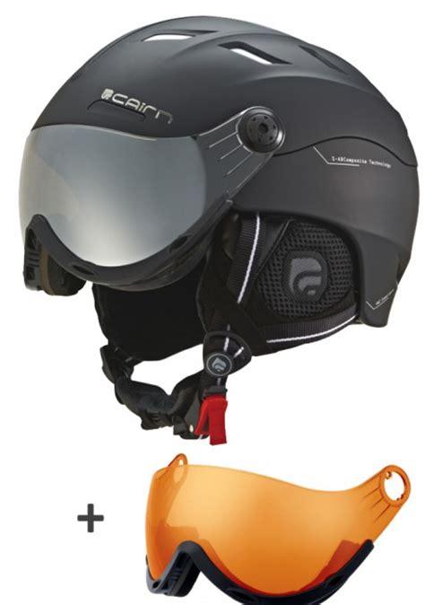 Visro Nmax 59cm Smoke cairn spectral visor skihjelm med visir m skisport dk skishop