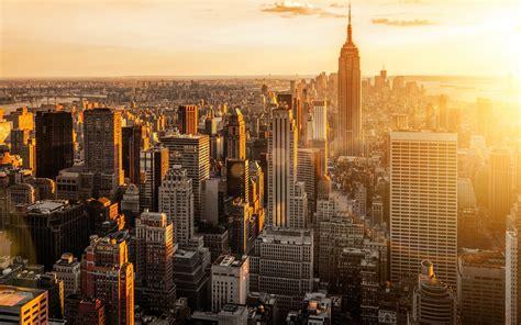 york usa manhattan city morning wallpaper hd wallpapers