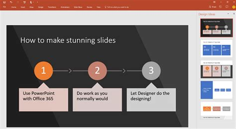 design ideas not working powerpoint create professional slide layouts with powerpoint designer