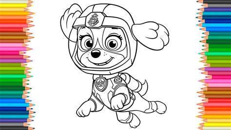 pup colors pup to learn books marshall paw patrol coloring pages printable coloring