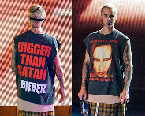 Kaos Tshirt Baju Justin Bieber Purpose Tour My Dont Like You 1 justin bieber s bigger than satan rocks at