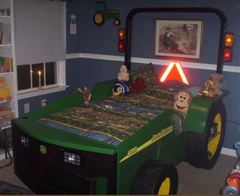 boys construction trucks  tractor bed ideas design dazzle