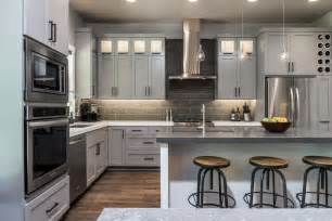 Grey Cabinets In Kitchen grey kitchen cabinets is the futuristic color for your minimalist