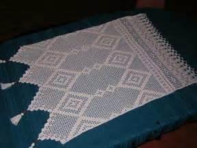 cortinas crochet  cocina patrones imagui