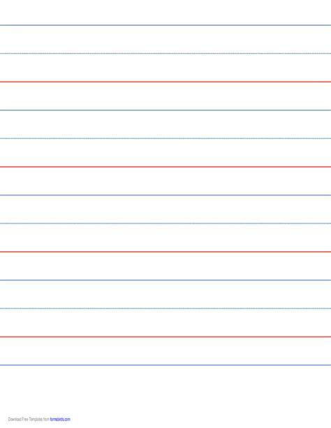 printable lined paper landscape orientation 9 16 skip handwriting paper in landscape orientation free
