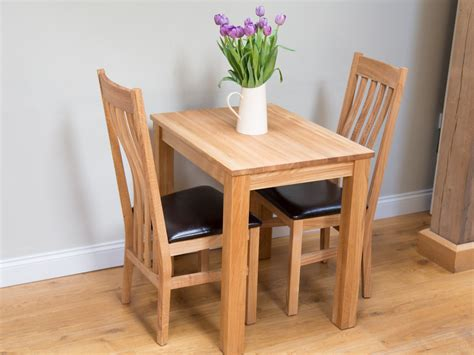 small oak dining table and 2 chairs small oak kitchen table chair set from top furniture