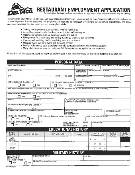 printable job applications u haul search results for general employment application free