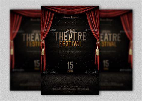 Theatre Flyer Template   Inspiks Market