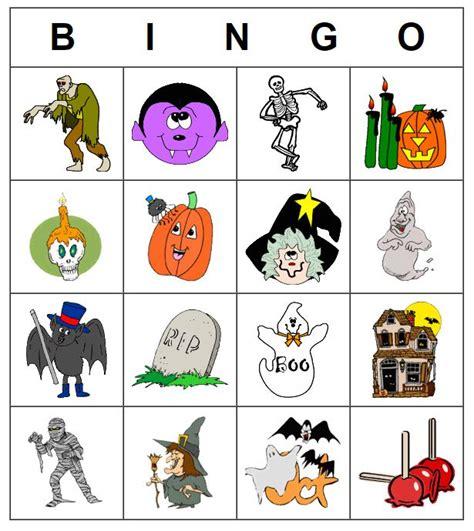 21 sets of free printable halloween bingo cards