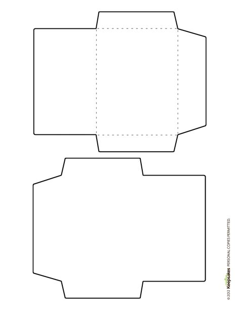 printable small envelope template free envelope template featured in the sept oct 2012 issue
