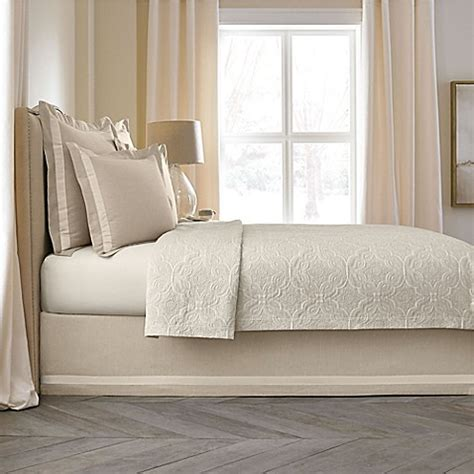 bed skirts bed bath and beyond wamsutta 174 collection linen cotton blend bed skirt bed