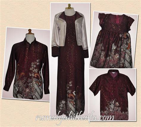 Gamis Lucu Trend Baju Batik Sarimbit Holidays Oo