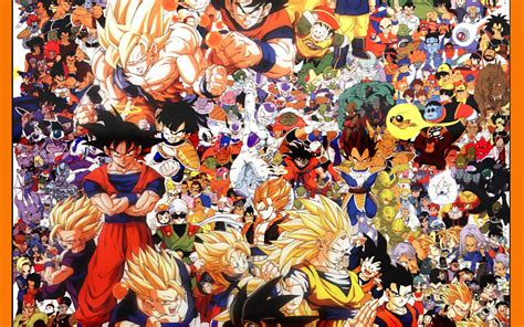 dragon ball z villains wallpaper dragon ball z all characters wallpaper for iphone dodskypict