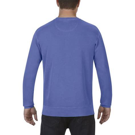 periwinkle comfort color cc1566 comfort colors adult crewneck sweatshirt