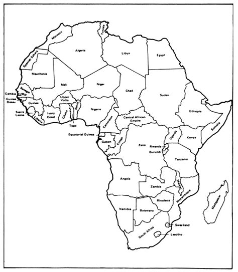 africa map black and white black and white map of africa pictures to pin on