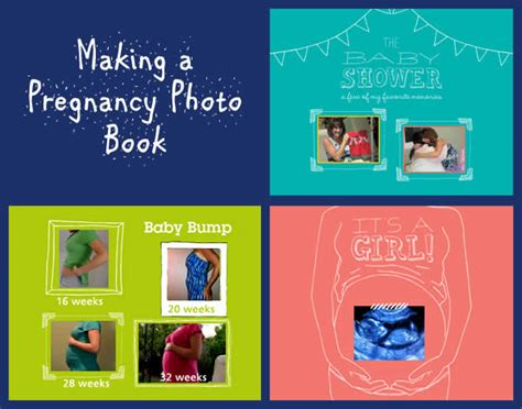 ideas for picture books pregnancy photo book ideas and tips digital photos 101