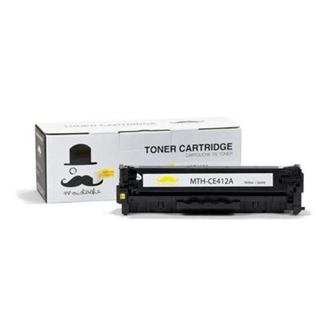 Toner Hp 305a Yellow hp 305a ce412a new compatible yellow toner cartridge