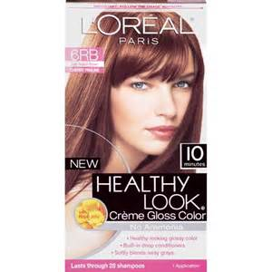 6rb hair color l oreal healthy look creme gloss hair color 6rb
