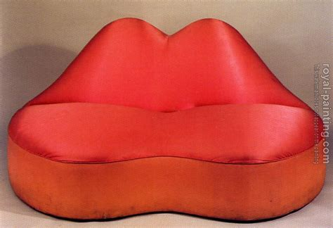 salvador dali mae west lips sofa mae west lips sofa by salvador dali oil painting