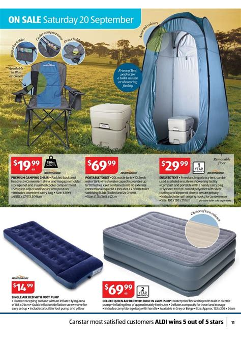 Adventuridge Air Mattress by Aldi Special Work Out Offers Catalogue September Page 11