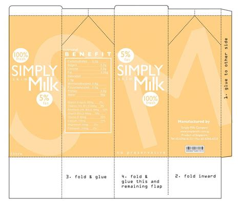 fries packaging template fries packaging template free template