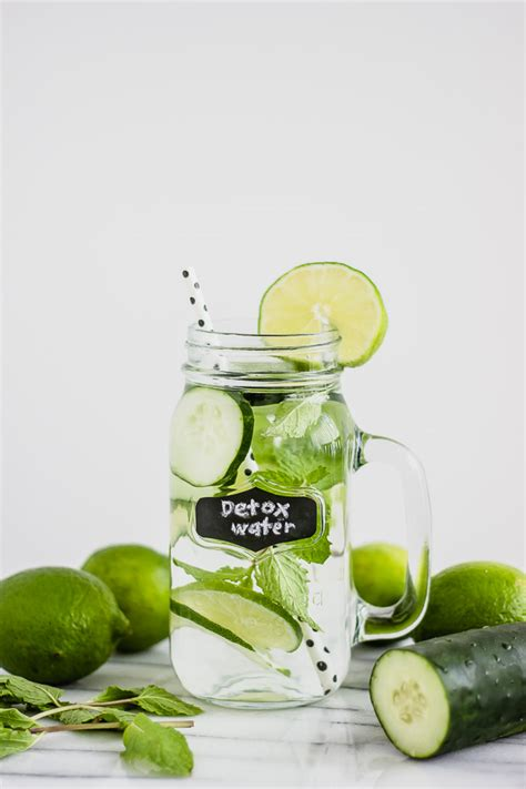 Detox Beverages by Best Detox Drink Cucumber Mint Diy Recipe