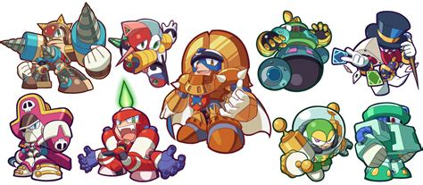 Kaos 8bit Megaman 2 Oceanseven always wondered how other megaman robot masters would look like in powered up neogaf