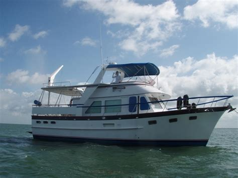 1987 used defever offshore cruiser motor yacht for sale - Offshore Cruiser Boats