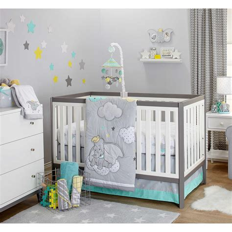 Disney Nursery Bedding Sets Disney Baby Dumbo Big 3 Crib Bedding Set