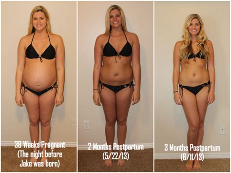 one month after c section 3 month postpartum progress britney munday