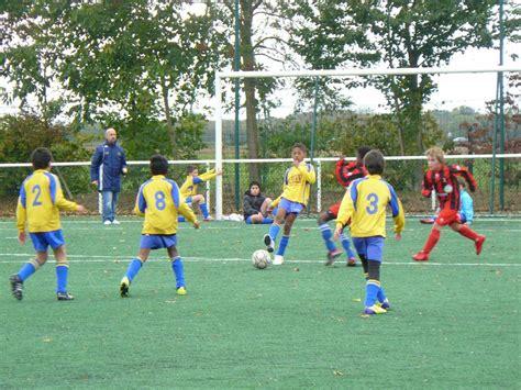 Lu U11 victoire des u11 contre bray et lu association sportive