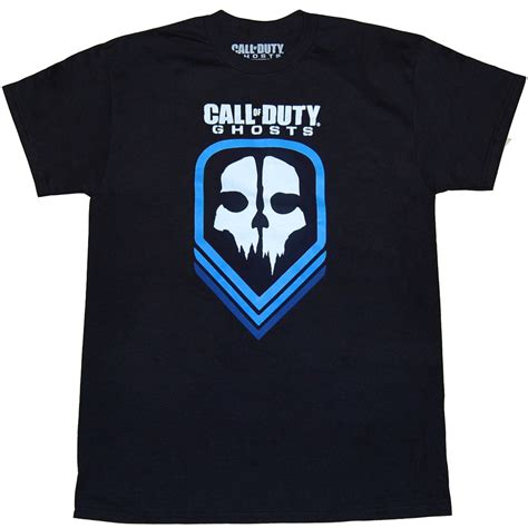 T Shirt Kaos Call Of Duty Ghost call of duty t shirts call of duty ghost logo t shirt by