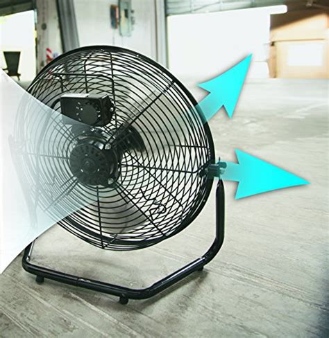 patton high velocity fan patton puf1810c bm 18 inch high velocity fan home garden