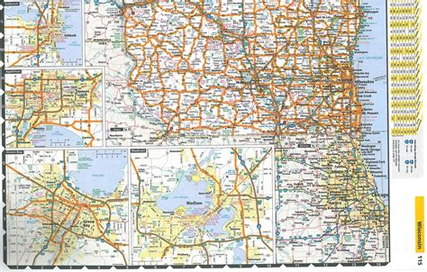 road atlas usa map themapstore motor carriers road atlas truckers atlas