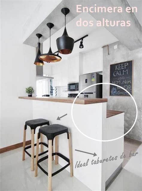 que es la cocina barras de cocina 191 qu 233 altura es la correcta cocinas