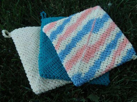 knitting pattern pot holder easy crochet pot holder tutorial potholders tutorials and