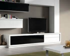 modern tv unit contemporary 2 drawer and glass door tv unit by baixmoduls