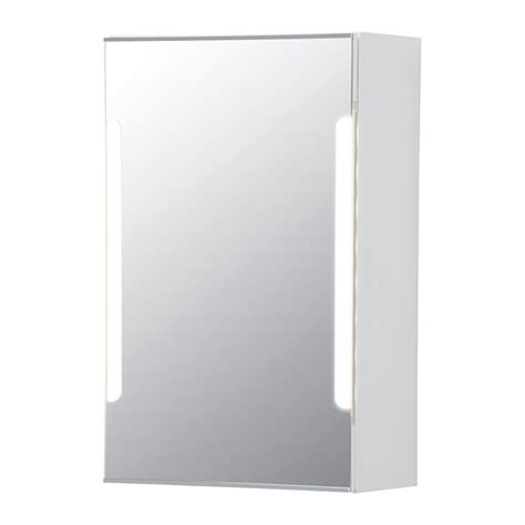 ikea bathroom mirror storjorm mirror cabinet w 1 door light ikea