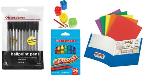 Office Supplies Starting With X Office Depot Officemax Back To School Deals Starting 8 14