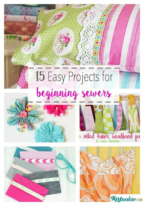 15 easy sewing projects for beginners 15 easy projects for beginner sewers