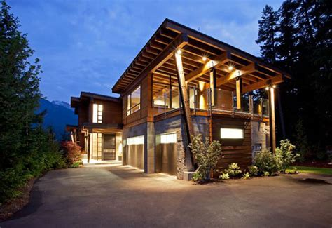 mountain home exterior design architecture and design