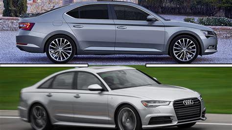 Skoda And Audi by Audi A6 Vs Skoda Superb