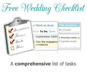 Wedding Checklist Website by Wedding Planner Wedding Checklist What You Need
