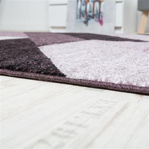 teppiche 3d optik designer teppich diagonal streifen lila beerent 246 ne design