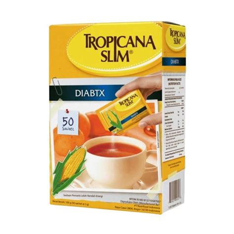 Thermolyte Gula Diet Isi 50 Sachet jual tropicana slim sweetener diabetic gula 50 sachet
