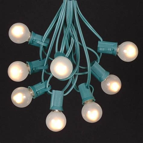 Garden Patio Outdoor String Lights Novelty Light Inc White Globe String Lights