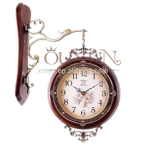 Handmade Clocks - 2015 wood craft wall clock handmade quartz clock framed