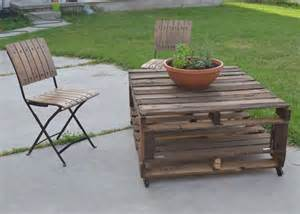 How To Make Patio Furniture With Pallets by Pallet Patio Furniture Easy Making Of Pallet Furniture