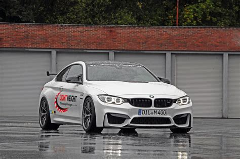 modified bmw m4 bmw m4 coupe modified by lightweight motorherald
